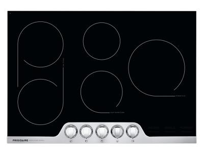 30'' Frigidaire Professional Electric Cooktop - Stainless Steel