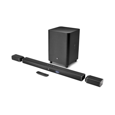 JBL 5.1 Channel Soundbar with Wireless Surround Speakers and Wireless Subwoofer