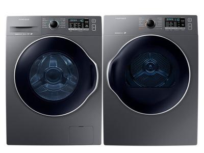 Samsung 2.2 Cu. Ft. Compact Front Load Washer and 4.0 Cu. Ft. Compact Dryer